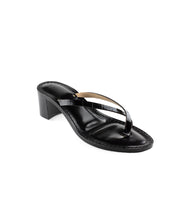 Load image into Gallery viewer, Style 21 | Black Croc | Black Heel