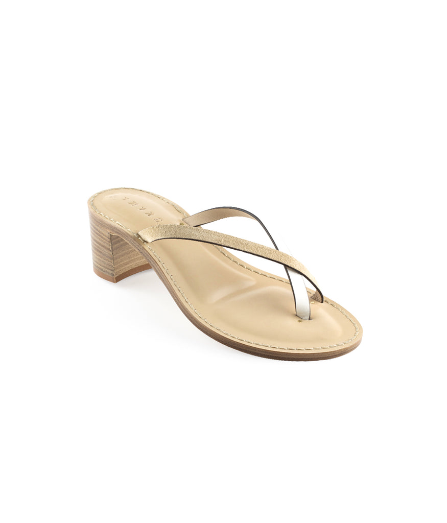 Load image into Gallery viewer, Style 21 | White Leather + Safari Suede | Nude Sole