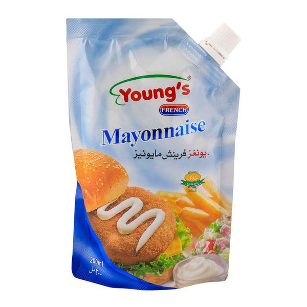Youngs Mayonnaise 200ml