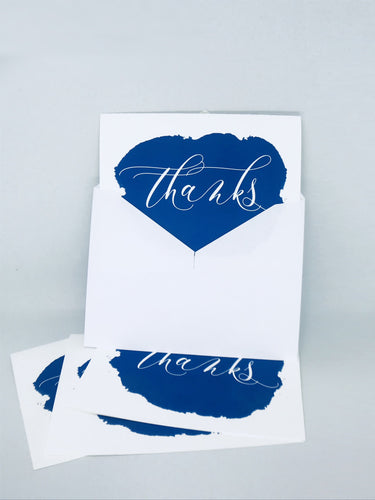 Greeting Card Set thanks thank you cards