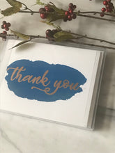 Load image into Gallery viewer, Hand Painted Thank You Card