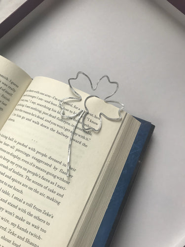 Handmade Flower Bookmark