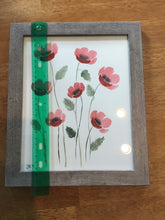 Load image into Gallery viewer, Original Watercolor Poppy Painting 8 x 10 (Medium)