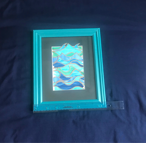 Ocean Wave Collage 2 - Original Watercolor Painting
