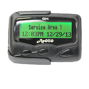 Text Message Display Pager by Apollo (Model Gold AL-A24)