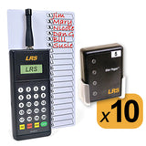 Staff Pager System Kits with 3-20 Pagers by Long Range Systems