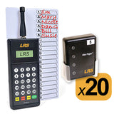 Staff Pager System Kits with 3-20 Pagers by Long Range Systems' copy