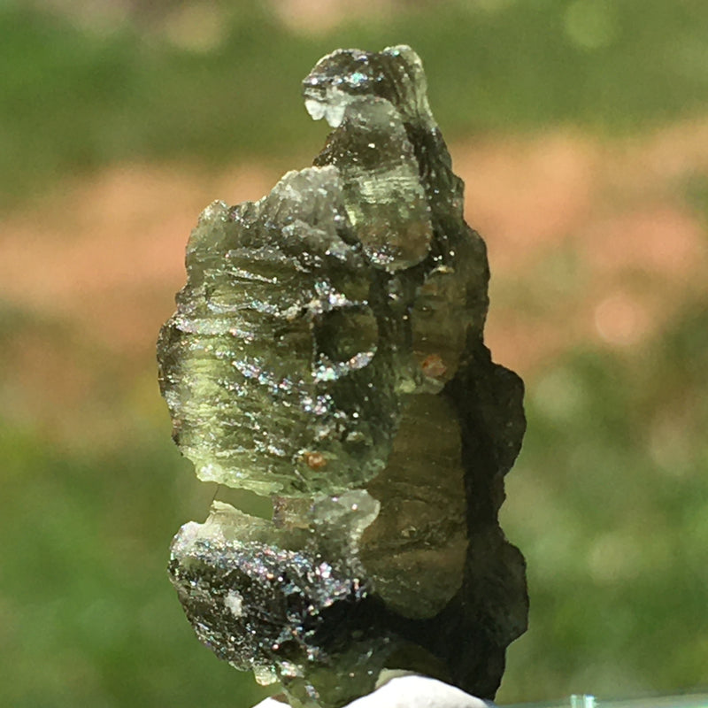 Angel Chime Moldavite Genuine Certified 1.8 Grams-Moldavite Life
