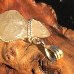 Libyan Desert Glass Gold Wire Wrapped Pendant-Moldavite Life