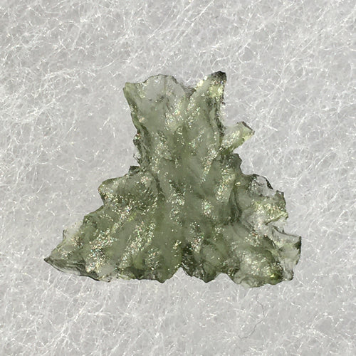 Small Besednice Moldavite Genuine Certified 0.6 grams