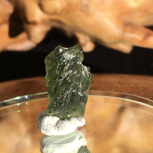 Genuine Moldavite 1.5 Grams