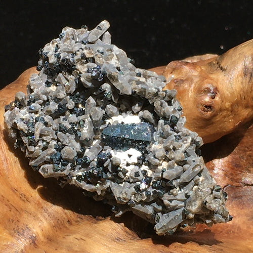 RARE Brookite Crystals in Quartz Matrix-Moldavite Life
