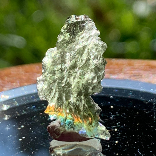 Besednice Moldavite Genuine Certified 0.9 grams Small