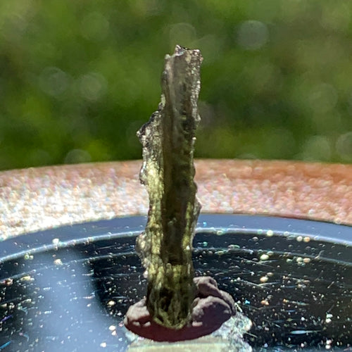 Small Besednice Moldavite Genuine Certified 0.5 grams