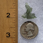 Small Besednice Moldavite Genuine Certified 1.0 grams