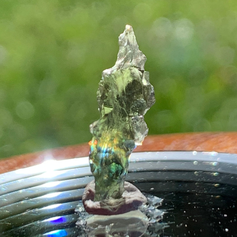 Besednice Moldavite Genuine Certified 0.7 grams Small