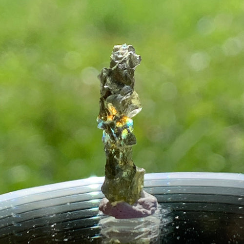 Besednice Moldavite Genuine Certified 0.8 grams Small