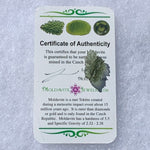 Besednice Moldavite Genuine Certified 1.1 grams Small