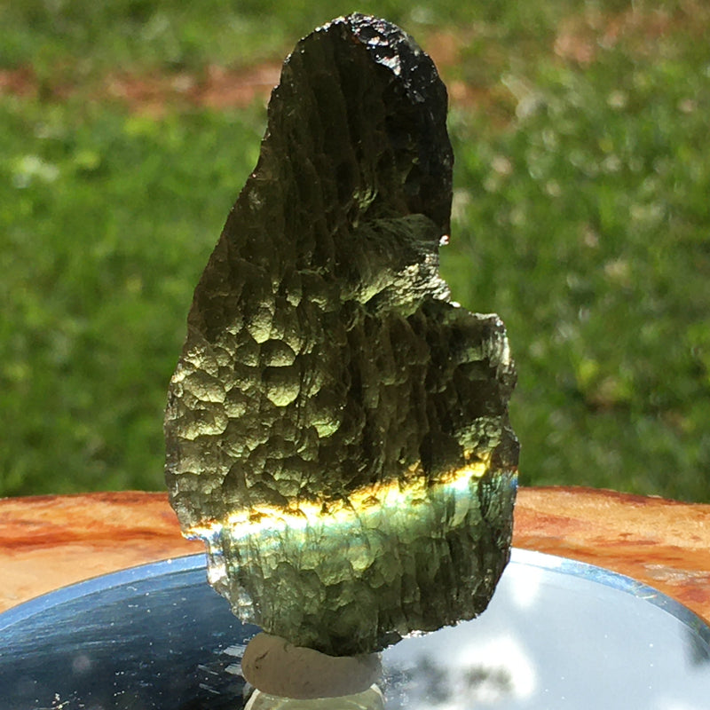 Angel Chime Moldavite Genuine Certified 19.5 Grams-Moldavite Life