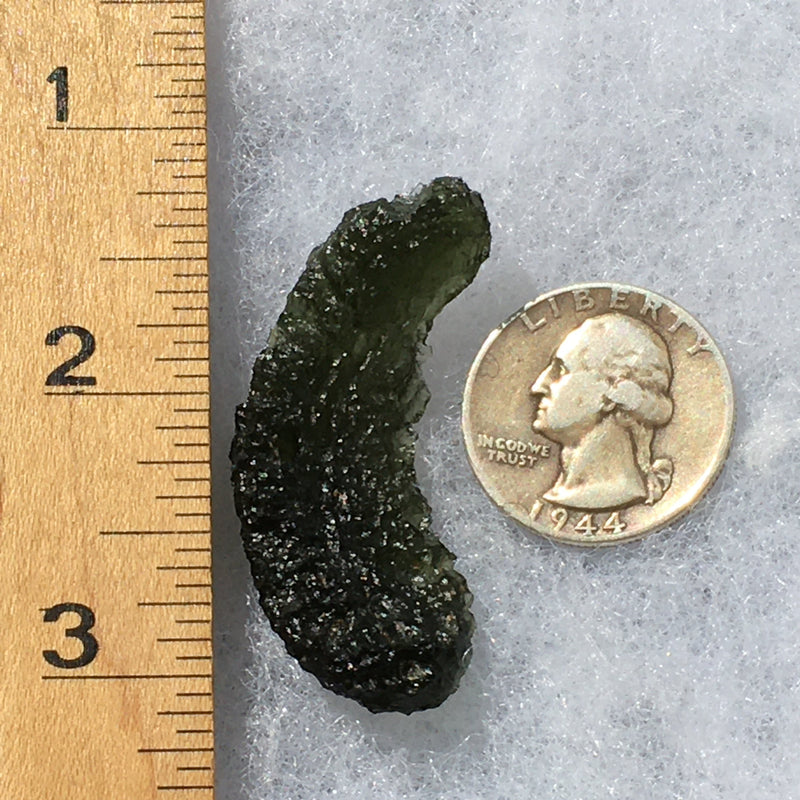 Angel Chime Moldavite Genuine Certified 8.6 Grams-Moldavite Life