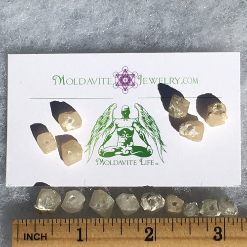Phenacite Beads for Jewelry Making-Moldavite Life