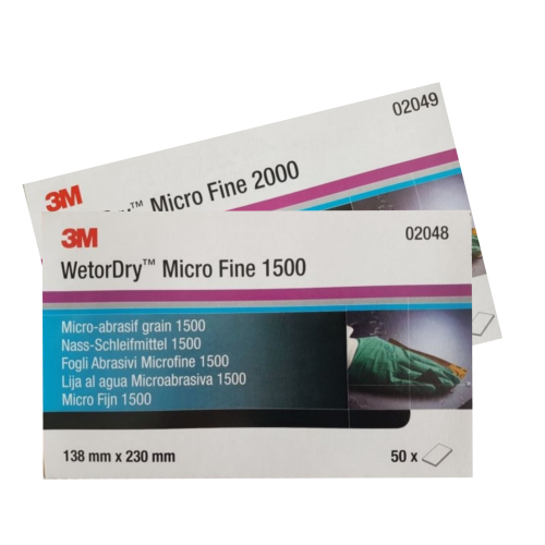 3M WetorDry Micro Fine Sheets