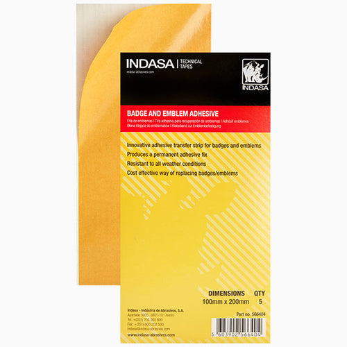 Indasa Badge and Emblem Adhesive