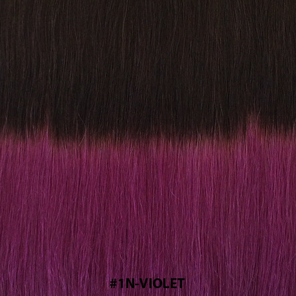 TAPE EXTENSIONS ( BALAYAGE #T1N-VIOLET ) - tape extensions hair
