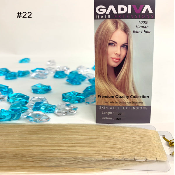 Skin-Weft TAPE EXTENSIONS ( #22 )