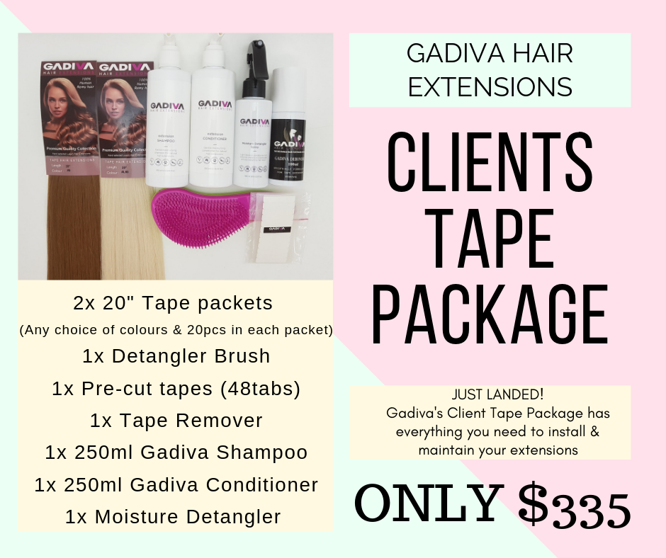 Clients Tape Package - Hair Extensions