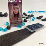 TAPE COOL Colour EXTENSIONS ( #7A ) - tape extensions hair