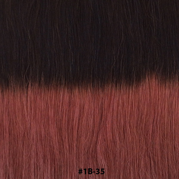 TAPE EXTENSIONS ( BALAYAGE #T1B-35 ) - tape extensions hair