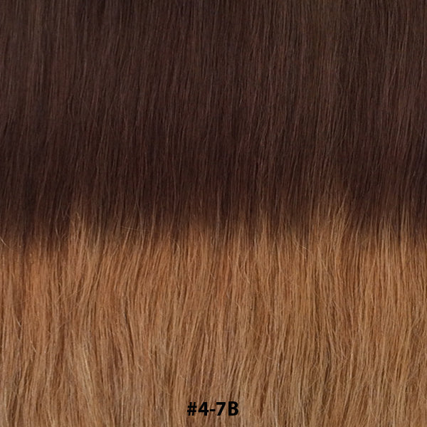 TAPE EXTENSIONS ( BALAYAGE #T4-7B ) - tape extensions hair