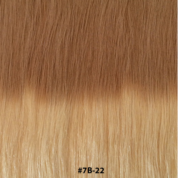 TAPE EXTENSIONS ( BALAYAGE #T7B-22 ) - tape extensions hair