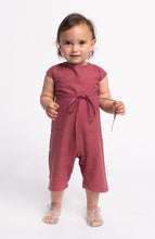 Load image into Gallery viewer, Raw Silk Lil' Yoked Onesie