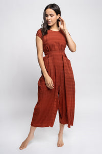 Indian Cotton Yoked Onesie