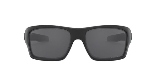 Turbine Matte Black Grey Polarized