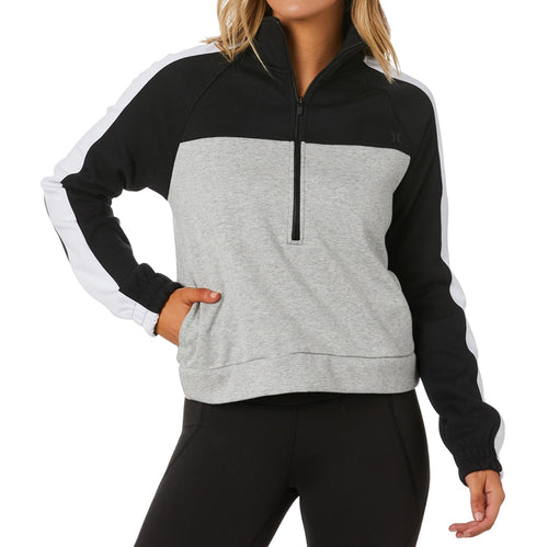 Therma Half Zip Hood Fleece