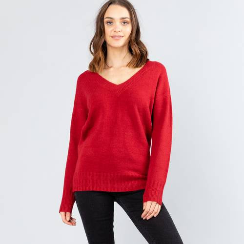Together Vee Neck Knit