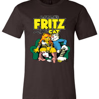 R. Crumb's Fritz the Cat - Men's Short Sleeve T-Shirt