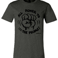 Power to the People - Men's Short Sleeve T-Shirt