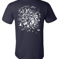Mutate Now in White - Men's Short Sleeve T-Shirt