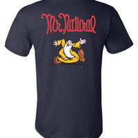 Mr. Natural Just Passin' Thru - Men's Short Sleeve T-Shirt