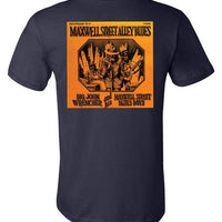 Maxwell Street Alley Blues - Men's Shirt Sleeve T-Shirt