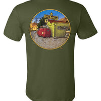 VW Bus Road Trip - Men's Short Sleeve T-Shirt