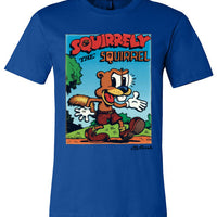 Squirrely the Squirrel - Men's Short Sleeve T-Shirt