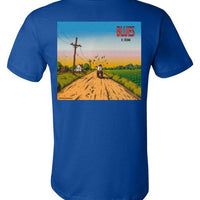 Blues - Men's Short Sleeve T-Shirt