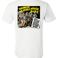 Drunken Barrel House Blues Album Art, Double Print - Men's Short Sleeve T-Shirt