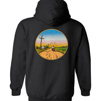 Delta Country Blues - Double Print - Hoodie