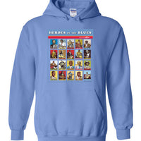 Heroes of the Blues Poster - Hoodie